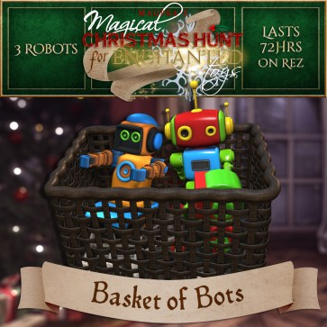 """Basket of Bots"" contains 3 Robots and costs $2500L (you save $500L)"