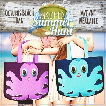 Octopus Beach Bag Prize