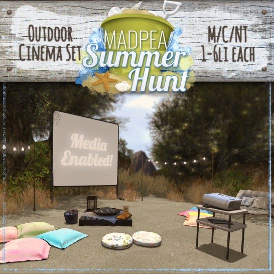 Outdoor Cinema Set PRIZE