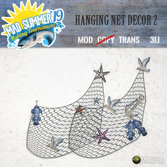 Be There Shiny Fish in that Net, Matey?