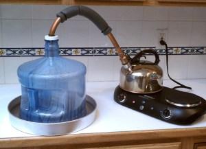 Destillering är ett bra sätt att göra ehhh... Vatten