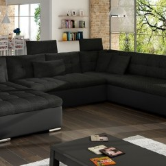 U Sofa Homcom Linen Lounge Sleeper Vegas Ii Madrasgiganten Dk