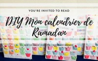 DIY: Mon calendrier de Ramadan