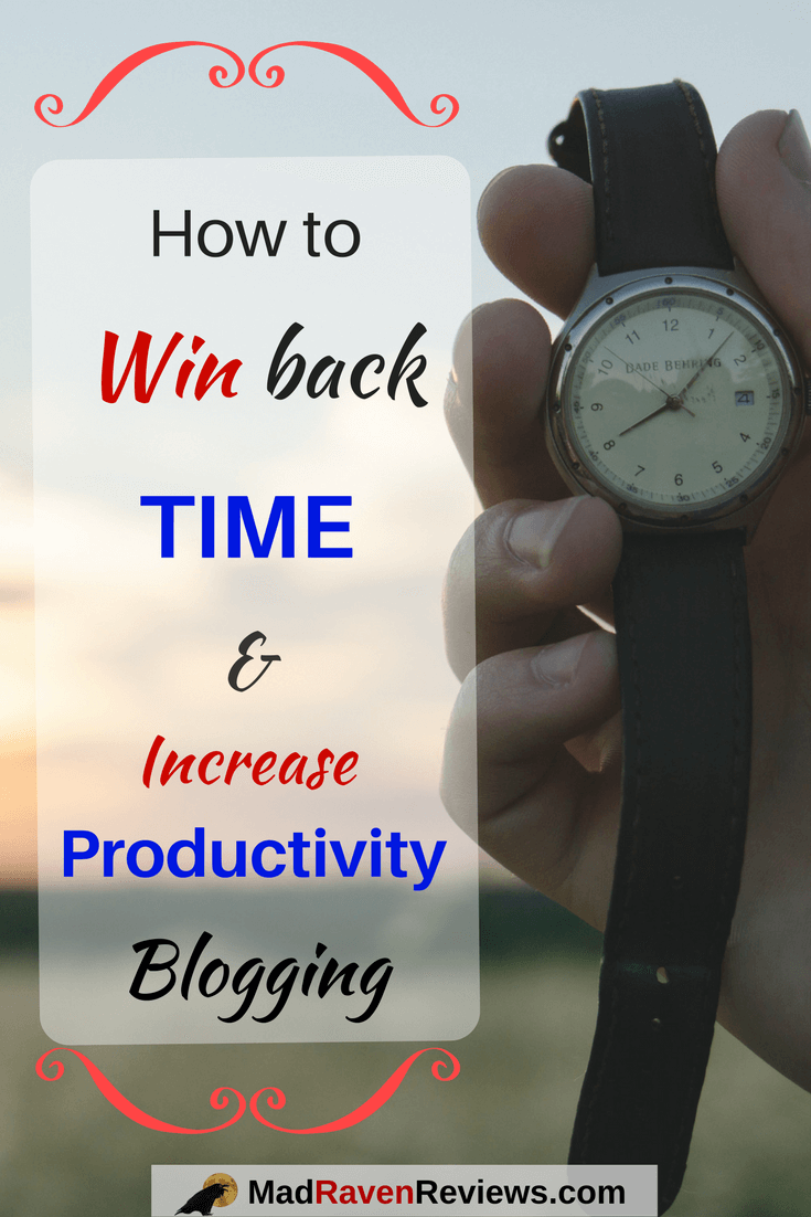 How to Increase Productivity, Win Back Time, Feel Happy
