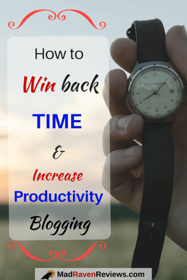 Increase Productivity Blogging and Save Time