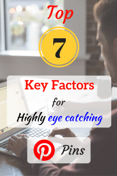 7 key factors for highly eye catching pinterest pins step 3.5 - pinterest graphic design