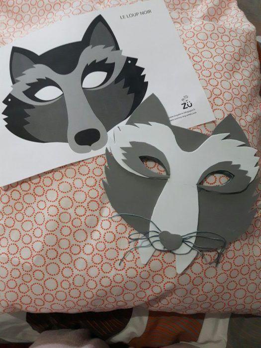 Disfraz De Lobo Crea Tu Mascara Diy Madre De Dos