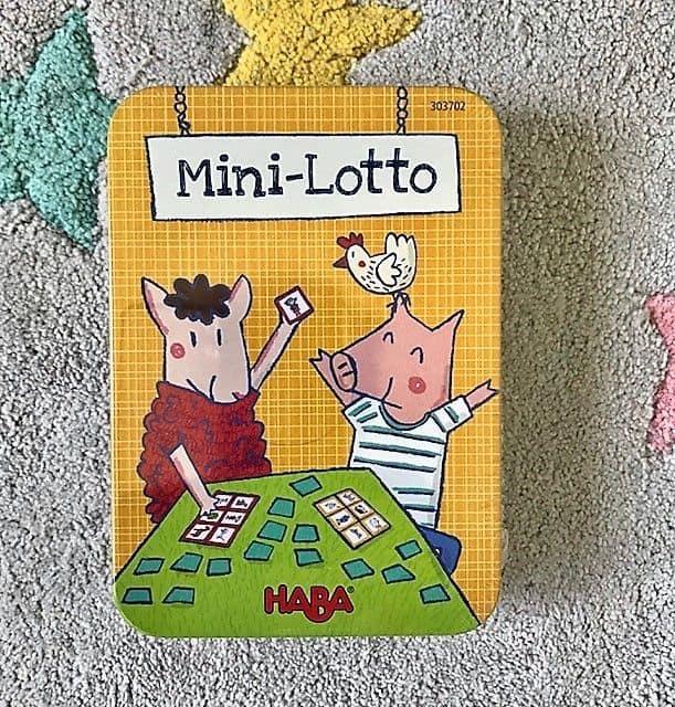 Mini Lotto Juego de mesa para niños