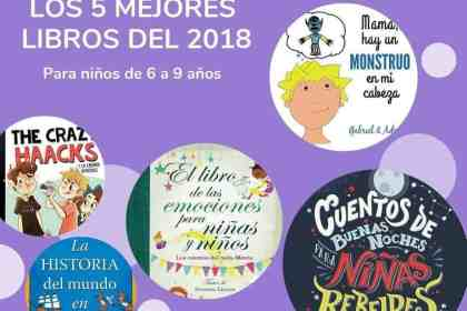 Los 5 mejores libros para niños de 6 a 9 años