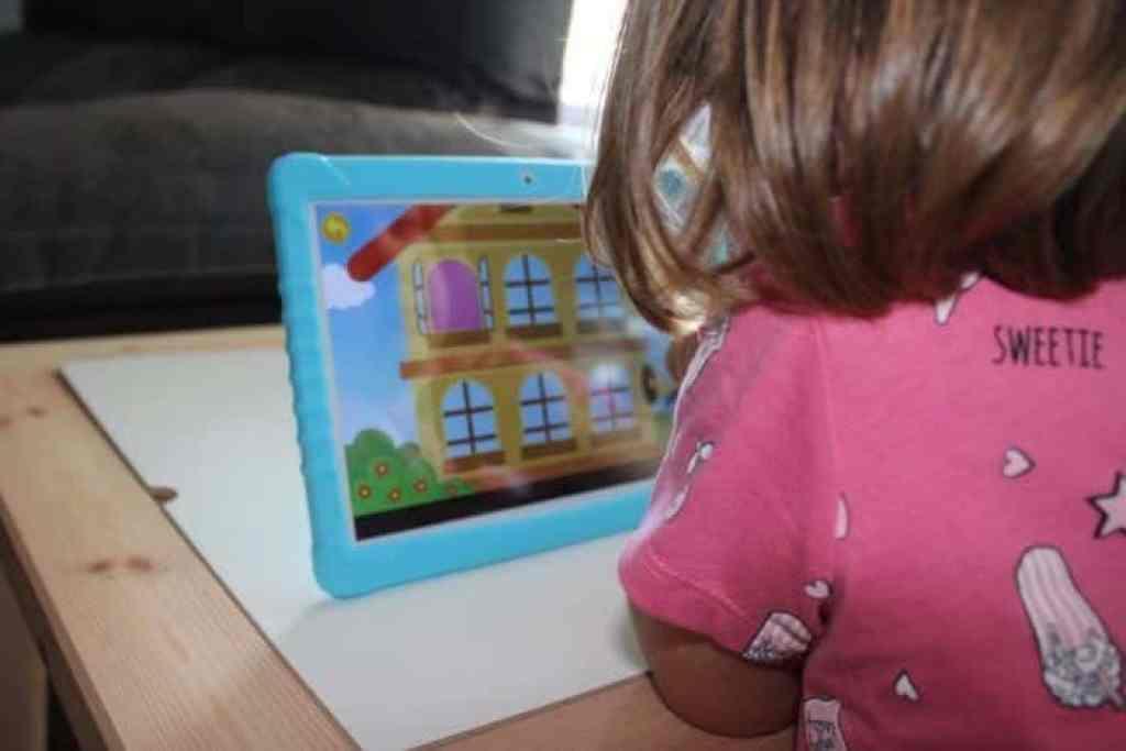 Una tablet para niños con control parental 3