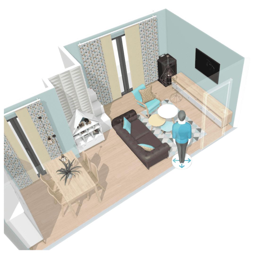 Cómo decorar un salón alargado y por menos de 2000€