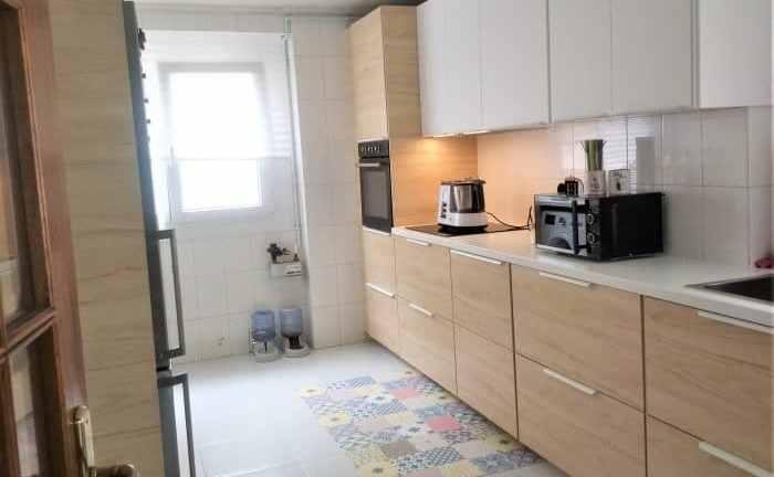 cocina después de renovarla con Ikea