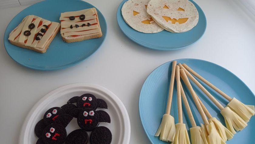 Snacks para Halloween fáciles y rápidos