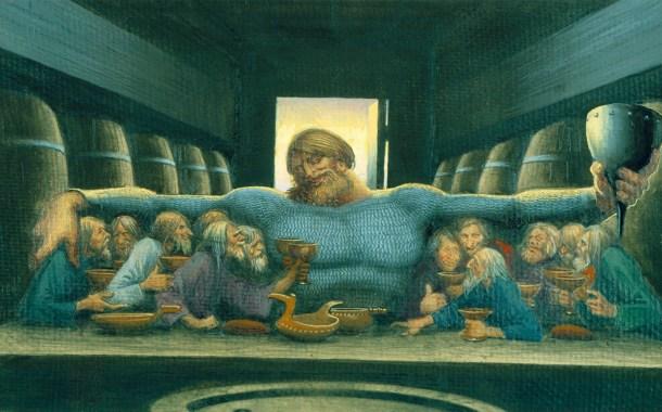 Il banchetto di Ilya Muromets e l'arrivo di Kalin-zar