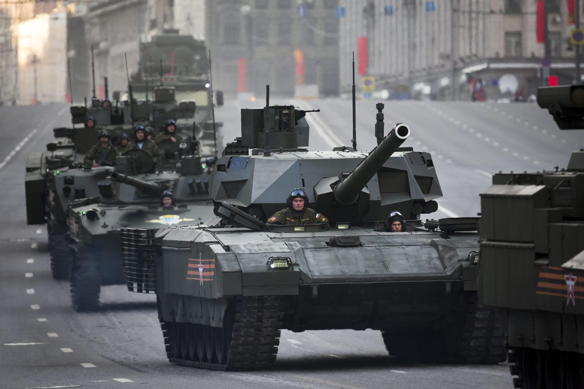 1° Corpo Carri della Guardia della Federazione Russa