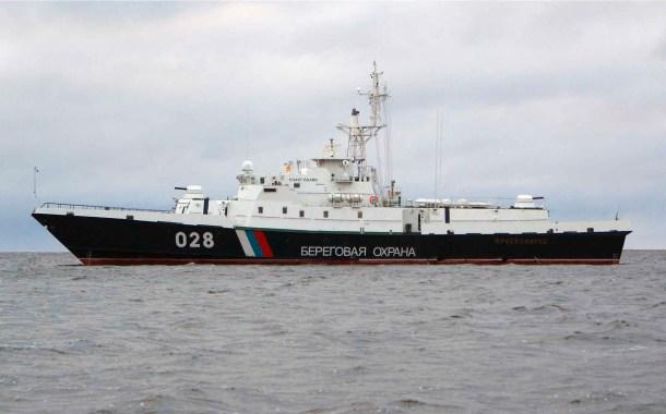 Navi della Guardia Costiera russa costrette ad utilizzare le armi per fermare e sequestrare le navi militari ucraine che han no violato le acque territoriali