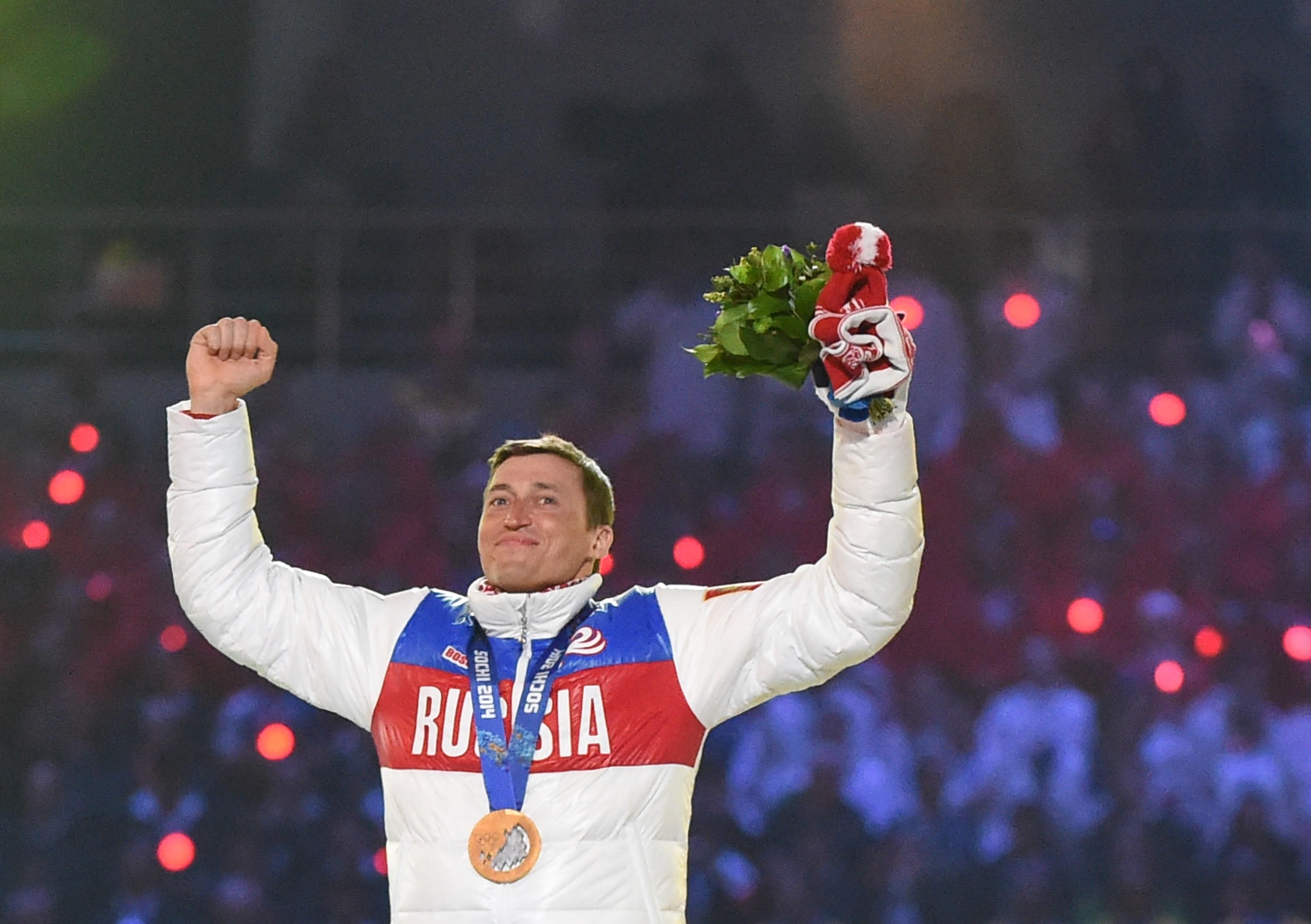 Il fondista russo Aleksandr Gennad'evič Legkov