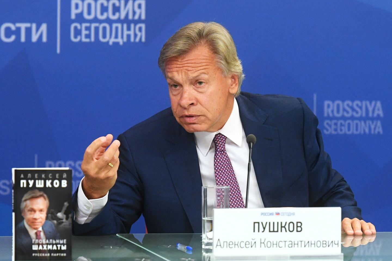 Il giornalista e senatore russo Aleksej Konstantinovič Pushkov