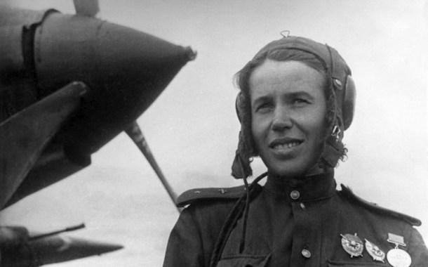 L'aviatrice sovietica Anna Aleksandrovna Egorova
