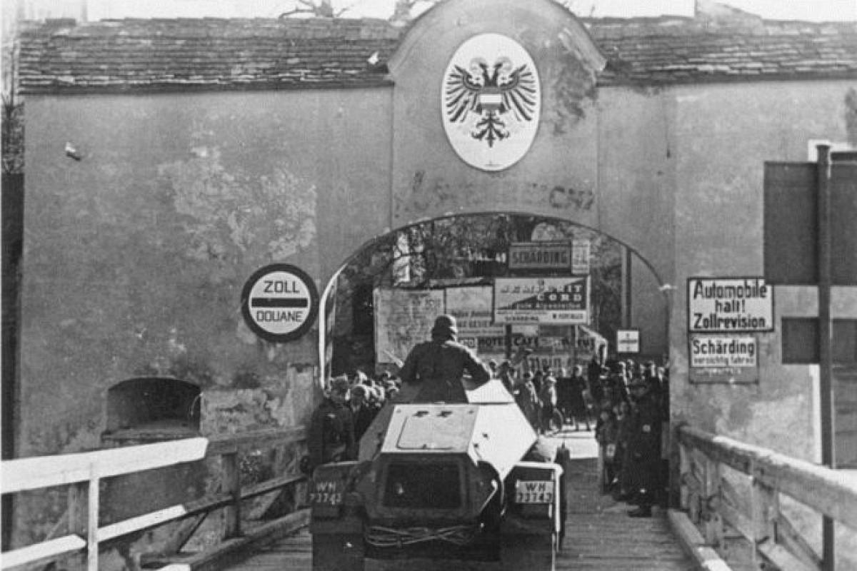 Anschluss: annessione dell'Austria alla Germania