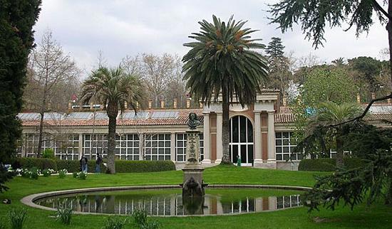 Madrid Parken Real Jardin Botanico