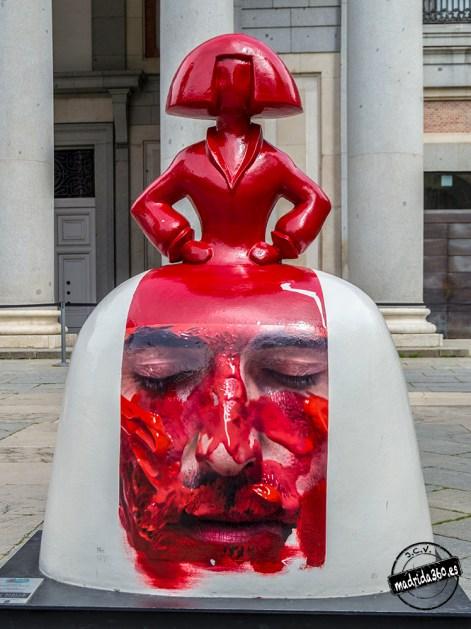 """""""Menina en Rojo"""" Eloy Morales"""