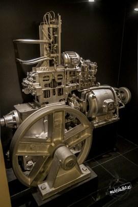 Motor de los ascensores originales