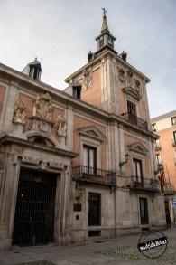 Fachada a la Plaza de la Villa