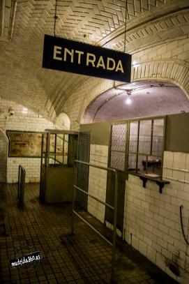 Entrada a la estación