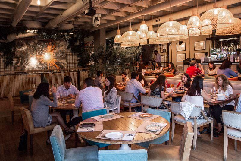 Cocina internacional en el restaurante Marieta en Castellana