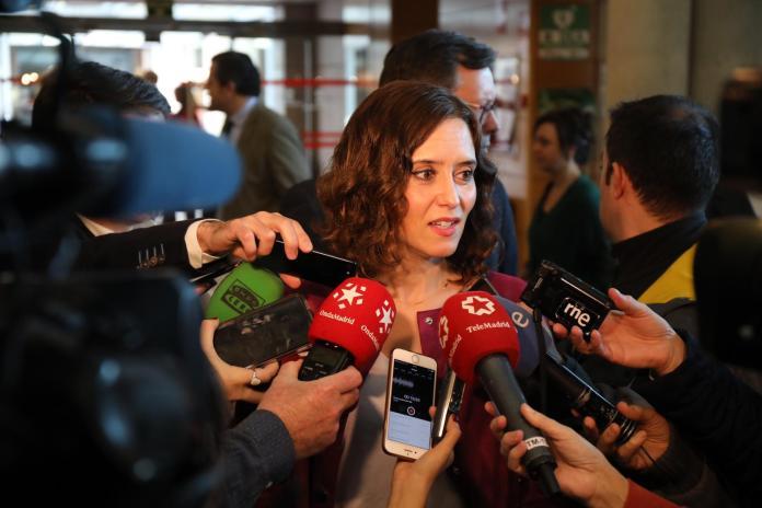 """Díaz Ayuso pide a Pedro Sánchez que convoque """"¡¡elecciones ya!!"""" 1"""