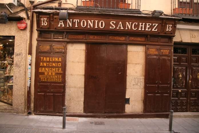 La calle en la que está la posada más grande de la historia de Madrid 2