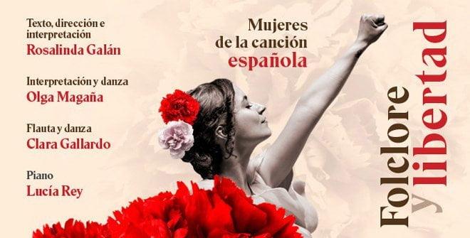 Folclore y Libertad este domingo en el Gran Teatro Bankia Príncipe Pio 1