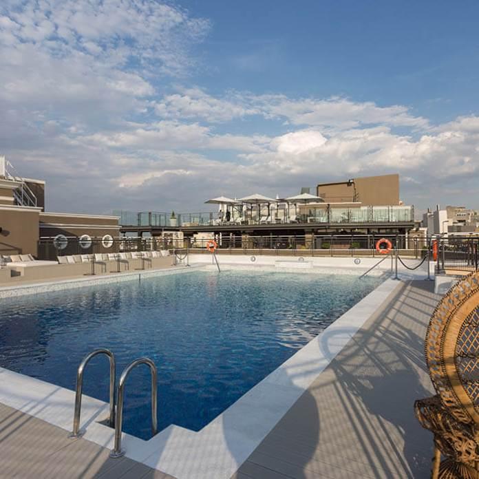 Hoteles en madrid con piscinas
