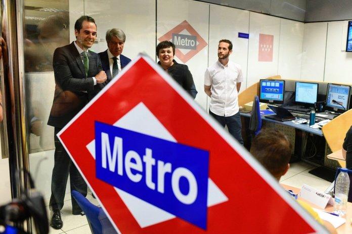 El simulador donde practican los futuros maquinistas de Metro 1
