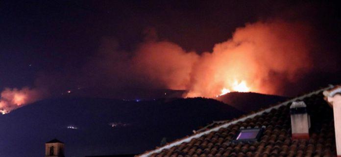 incendio sierra guadarrama