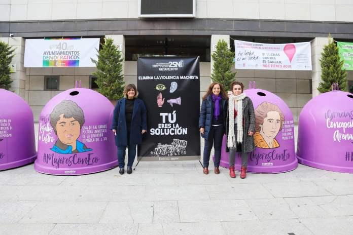Getafe lanza su campaña contra la violencia machista por el 25N 1