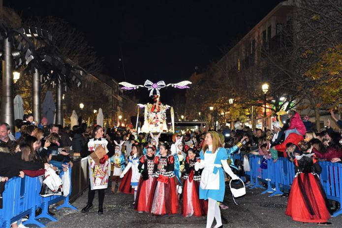 En imágenes | Sus Majestades Los Reyes Magos llegaron a Villaviciosa de Odón con una gran comitiva real 12