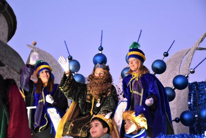 En imágenes | Sus Majestades Los Reyes Magos llegaron a Villaviciosa de Odón con una gran comitiva real 8