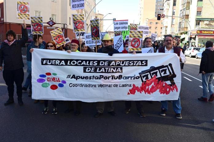 Latina y Retiro incrementan su lucha contra las casas de apuestas 1