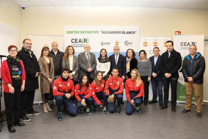 La nueva instalación deportiva en Getafe de CEAR favorecerá la integración de refugiados 2