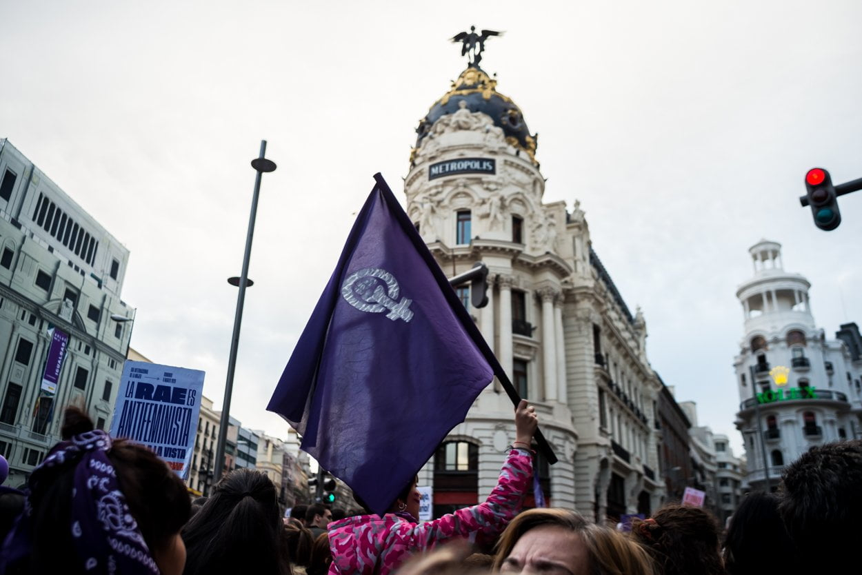 El 8M en Madrid en fotos 4