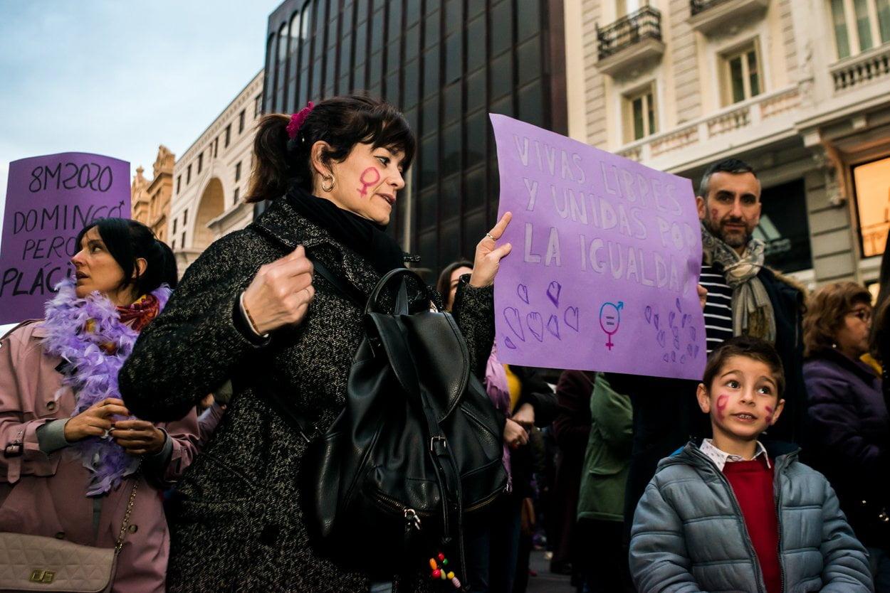 El 8M en Madrid en fotos 12
