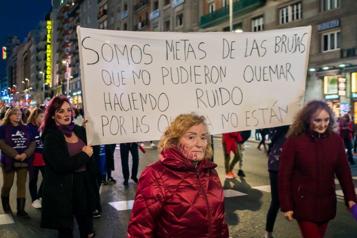 El 8M en Madrid en fotos 27