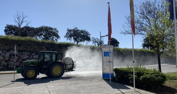 Los agricultores madrileños se suman a la batalla contra el coronavirus 1