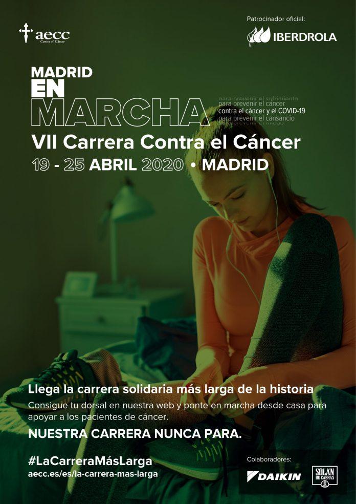 La carrera más larga contra el cáncer y el COVID-19: salida, recorrido y meta en casa 1