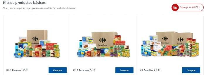 Carrefour refuerza sus pedidos a través de su web y con Glovo 1