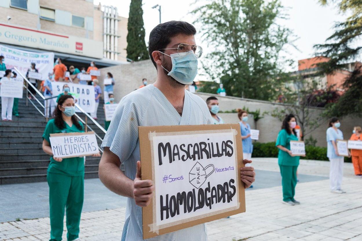 Sanitarios madrileños piden más 'refuerzos' 9