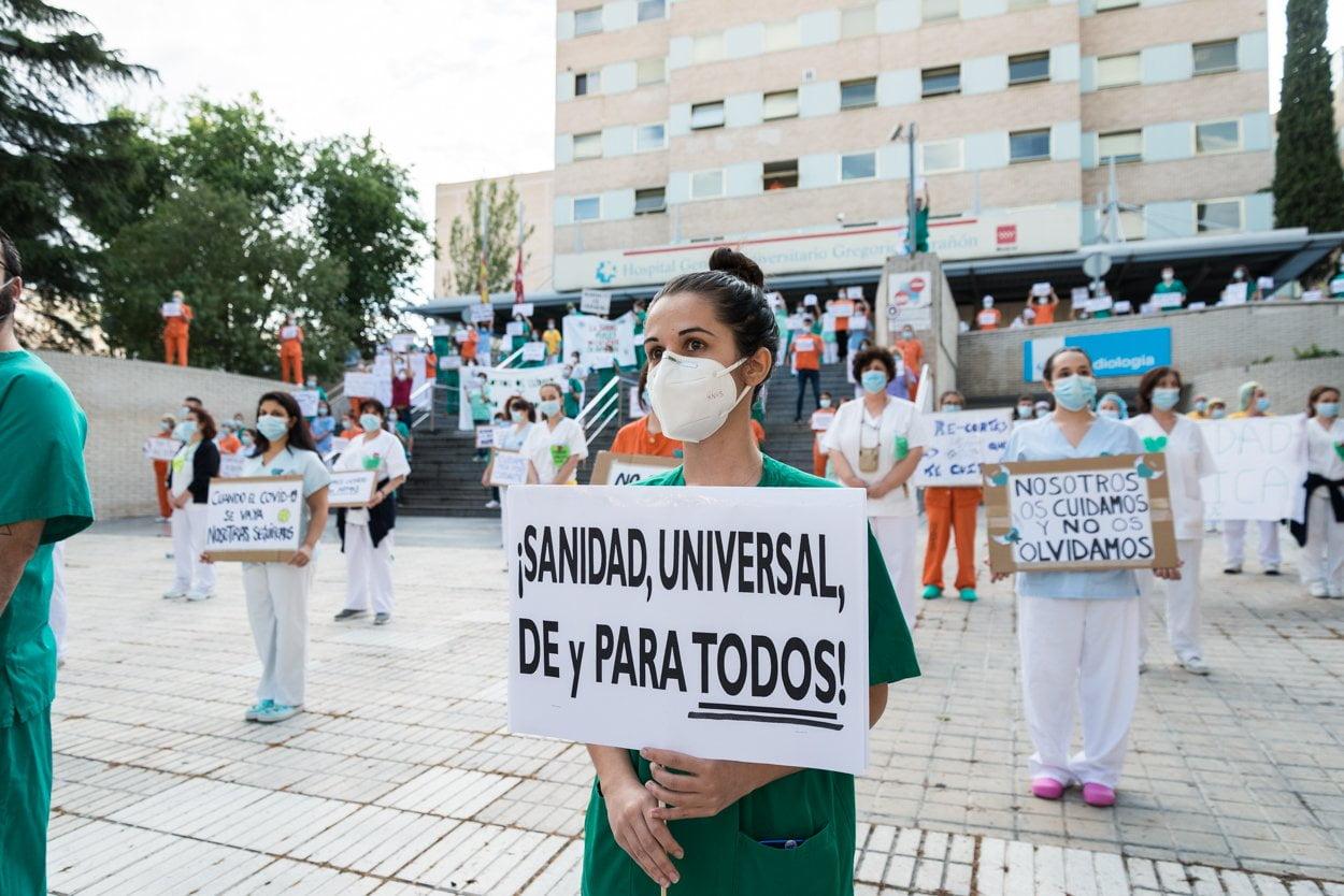 Sanitarios madrileños piden más 'refuerzos' 4