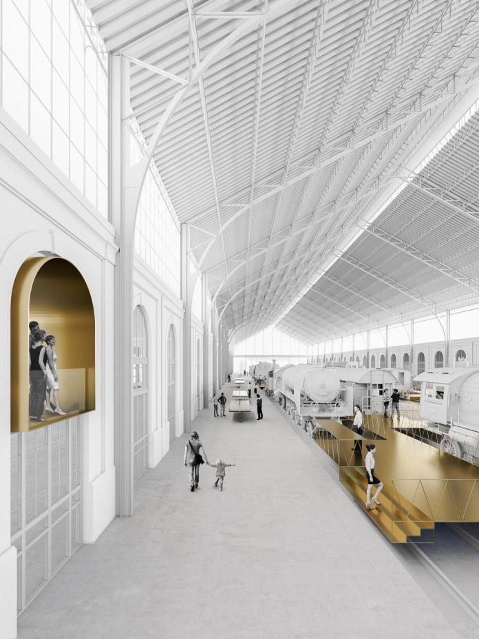 Así será la nueva estación Madrid - Delicias, sede del Museo del Ferrocarril 2
